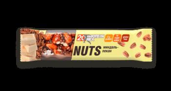 Орехово-протеиновый батончик миндаль-пекан